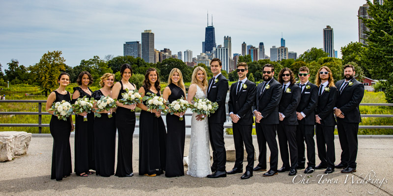 www.Chi-Town-Weddings.com  Wedding Party Lincoln Park Chicago