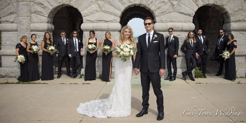 www.Chi-Town-Weddings.com  Grants memorial Lincoln Park Chicago